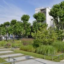 Jardin 122 rue des Poissonniers